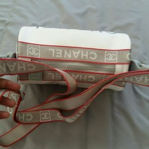 Authentic Chanel sports mini bag
